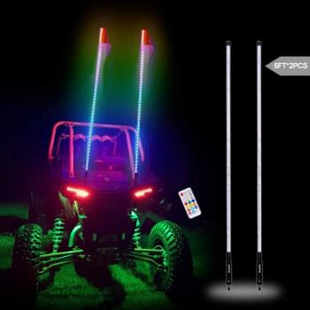 Комплект Светодиодных флагштоков LED для UTV/SSV/Багги