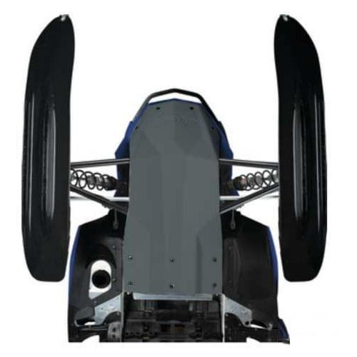 Защита днища оригинальная черная Ski Doo Rev-XR 860200167