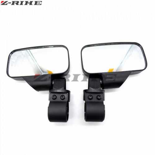 """Зеркала для UTV прямоугольные для трубы 1,75"""" и 2"""" Can-Am /Polaris /Yamaha /CF-Moto /Honda"""